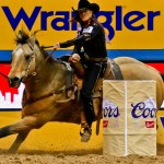 Lisa Lockhart S Victory In The Barrel Racing Highlights Round 2 At Nfr
