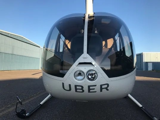 Uber chopper rides