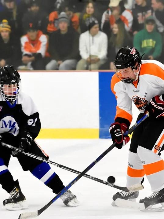 Central York vs Manheim Township ice hockey