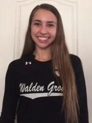 Cassidy Hicks, Sahuarita Walden Grove volleyball player,