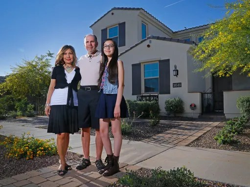 Victoria and Brian Della Valle moved to the Valley