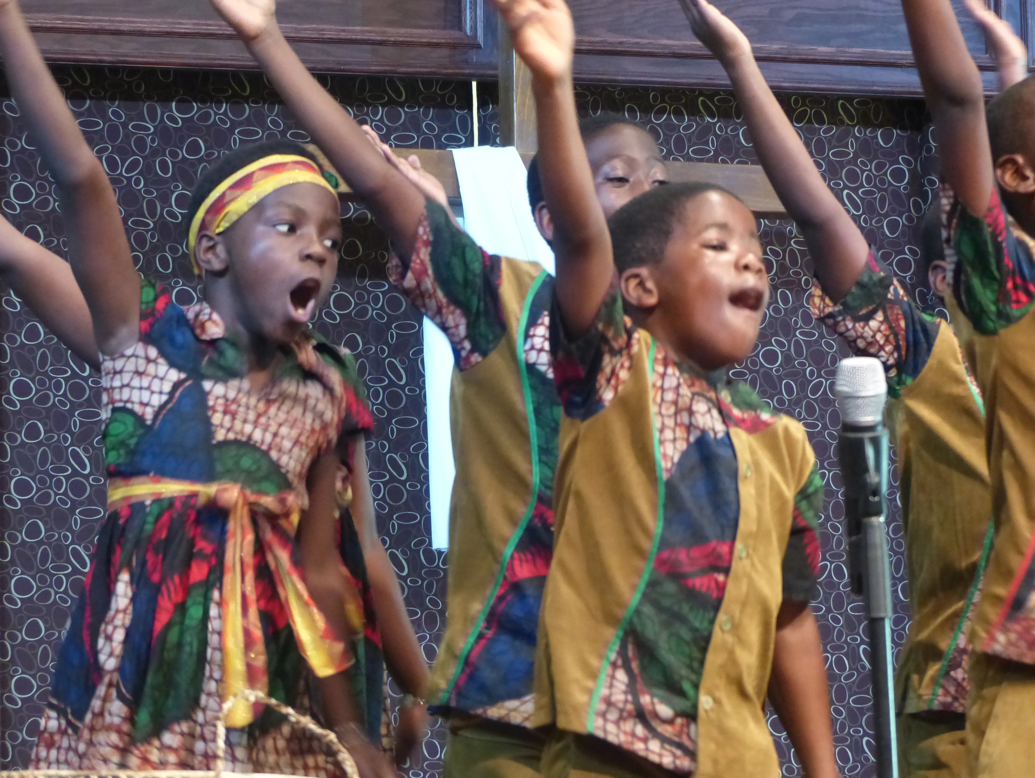 African Children's Choir captivates audience in energy ...