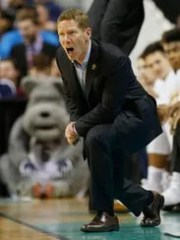 Gonzaga Bulldogs head coach Mark Few.