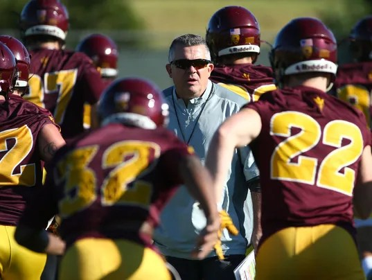 Arizona State Football Spring Practice 2017