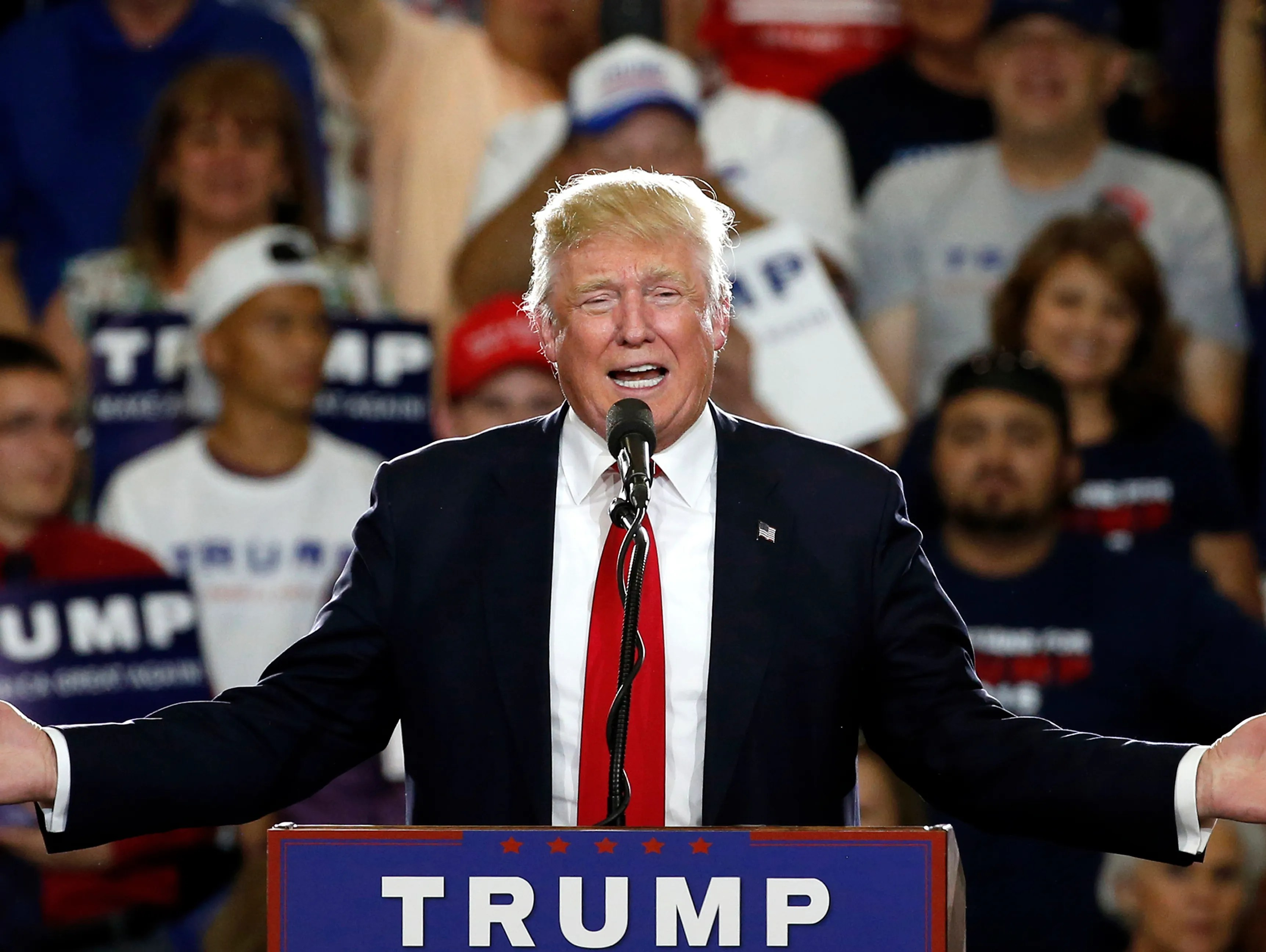 Trump reaches the magic number to clinch nomination
