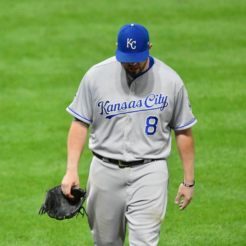Image result for A sampling of MLB players guaranteed more money than Mike Moustakas in 2018