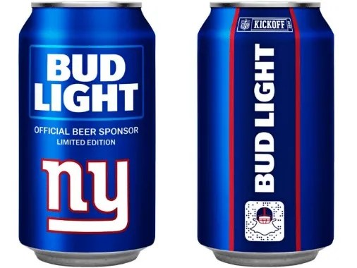 Nfl Bud Light Can