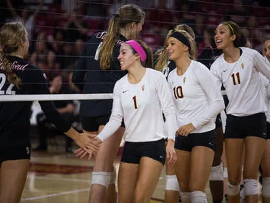 Stanford, ASU picked to finish 1-2 in Pac-12 volleyball