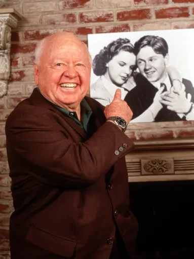 Hollywood legend Mickey Rooney, who died Sunday at age 93, shared a lifelong friendship with Judy Garland -- and, it seemed, with all of the world. Let's look back at the irrepressible star's life.