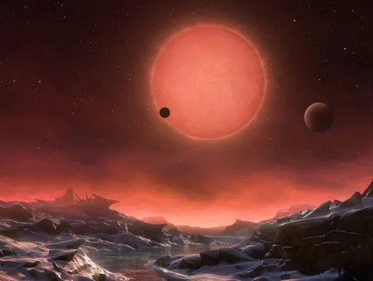 3 Earthlike planets orbiting nearby star could have life water