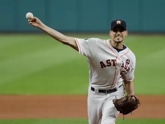 USP MLB: WORLD SERIES-LOS ANGELES DODGERS AT HOUST S BBA HOU LAD USA TX