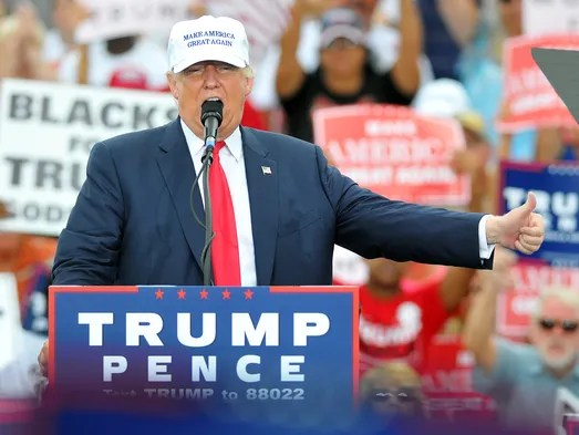 Trump urges supporters to vote at Florida rally