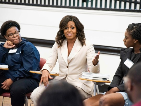 Michelle Obama, Rayven Peterson, Anta Njie