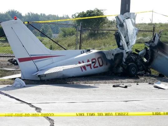 AP Plane Crash Ohio