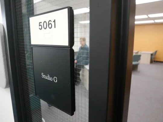 The Studio G offices are pictured on Thursday at San Juan College Quality Center for Business in Farmington.