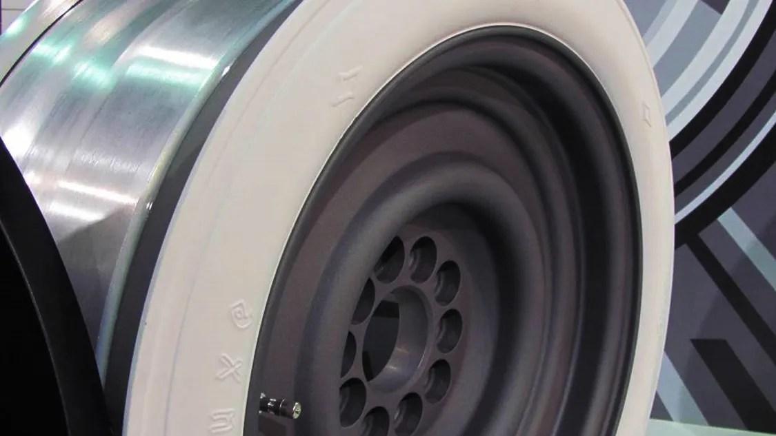 Modern White Wall Tires