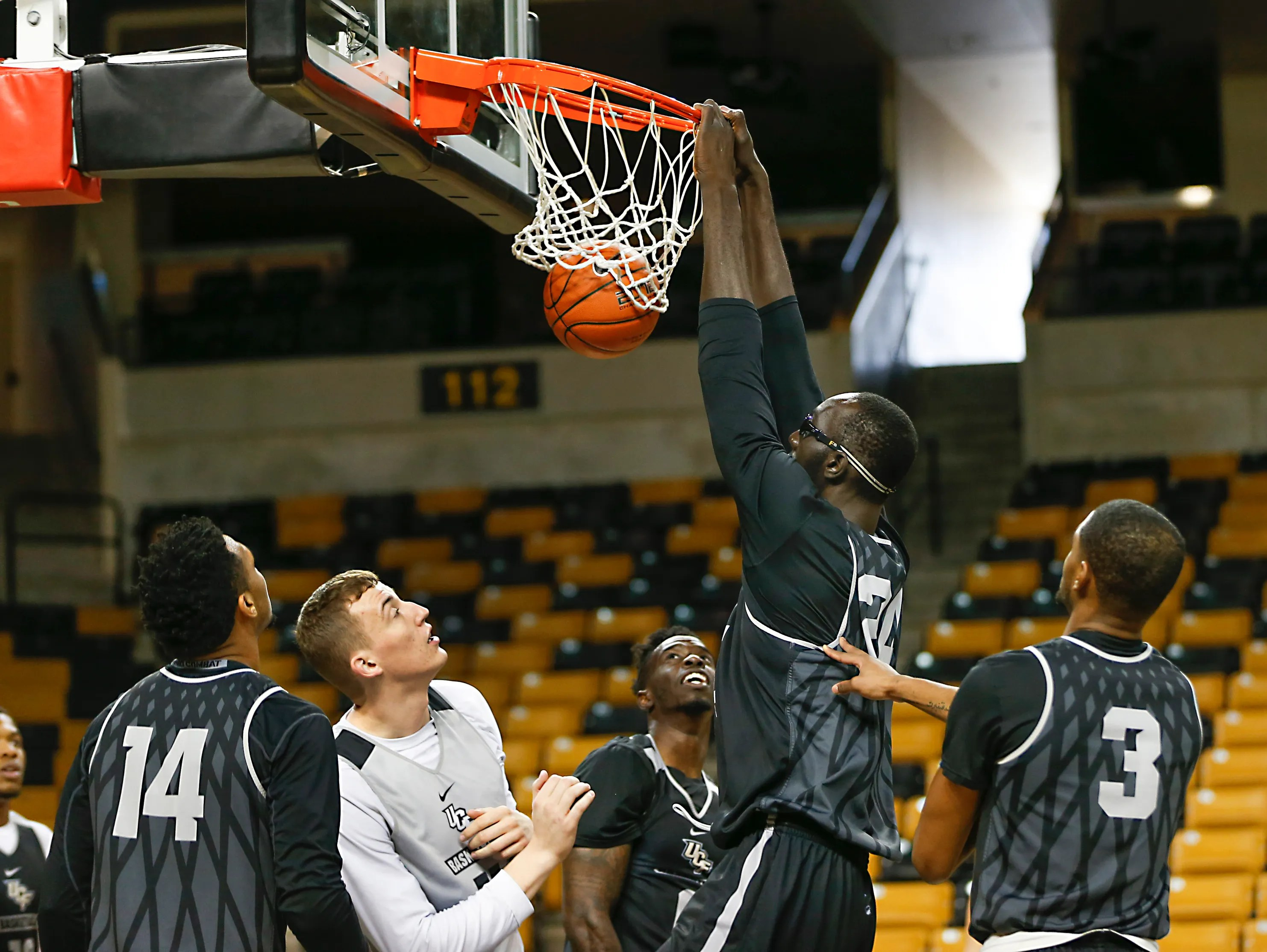 Tacko Fall finds his footing for UCF, with room to grow as ...