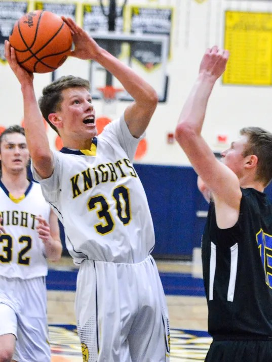 Kennard Dale vs Eastern York boys' basketball