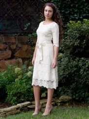 """""""Night in Paris"""" lace dress, for bridesmaids especially,"""