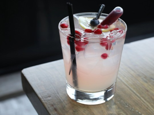 The Lilly-Belle cocktail at Southern Table Kitchen
