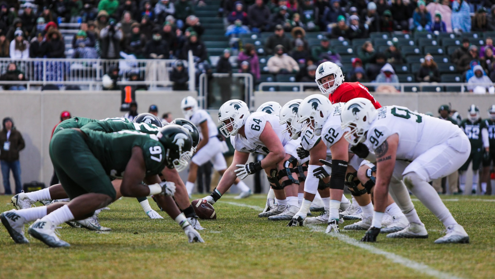 Michigan State football: Defense wins another scrimmage