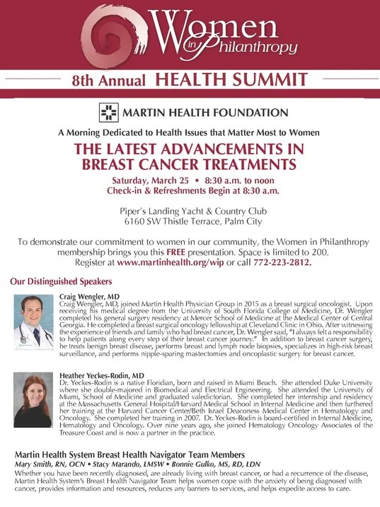 Summit Focused On Advancements In Breast Cancer Treatment