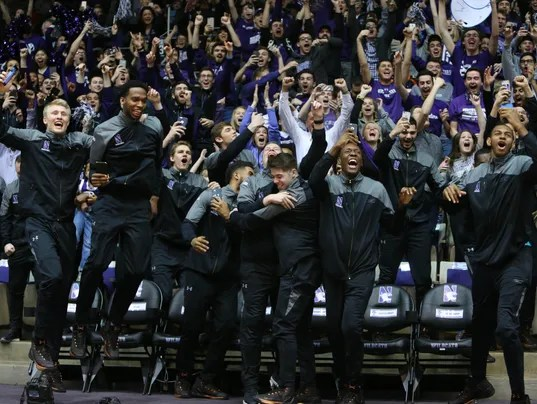USP NCAA BASKETBALL: SELECTION SUNDAY-NORTHWESTERN S BKC USA IL