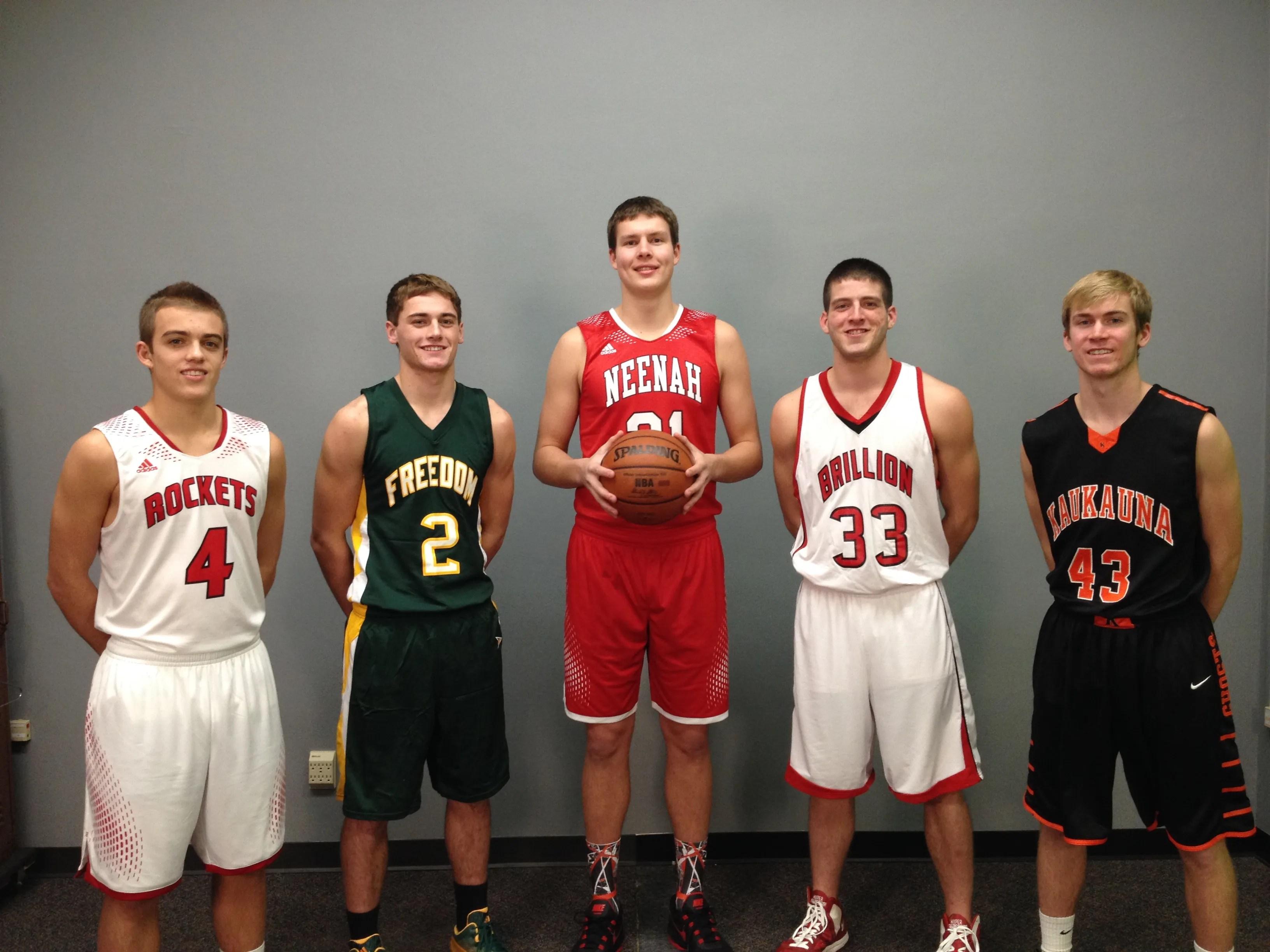 Post-Crescent Media Fab 5 boys basketball players | USA