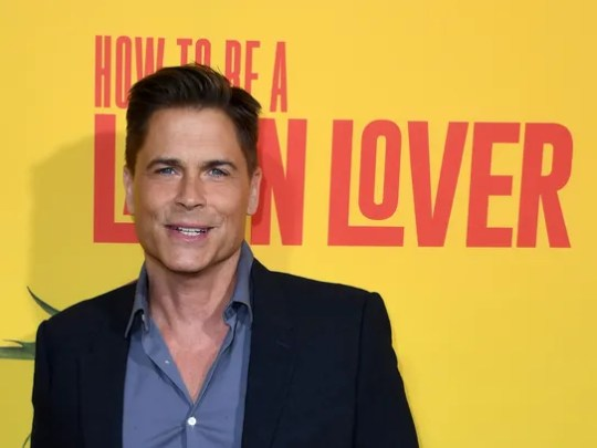 """Rob Lowe attends the premiere of his latest film, """"How"""