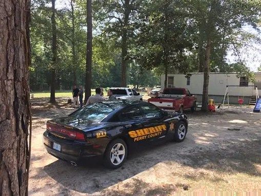Perry County Sheriff's Department officials are on