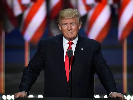 Donald Trump accepts GOP nomination, says 'I alone can fix ...