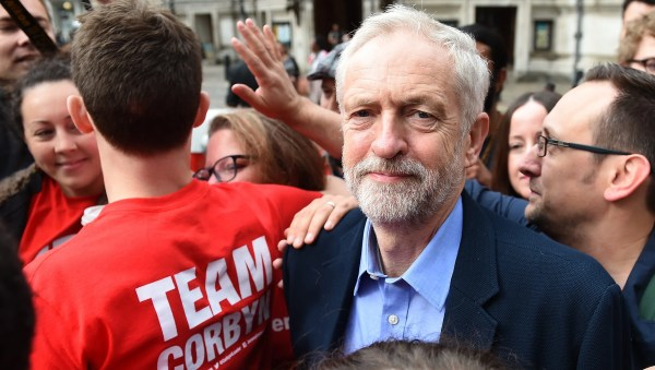Britain's Labour Party crowns Jeremy Corbyn new leader