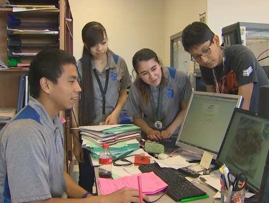Wapato students participating in NASA space project
