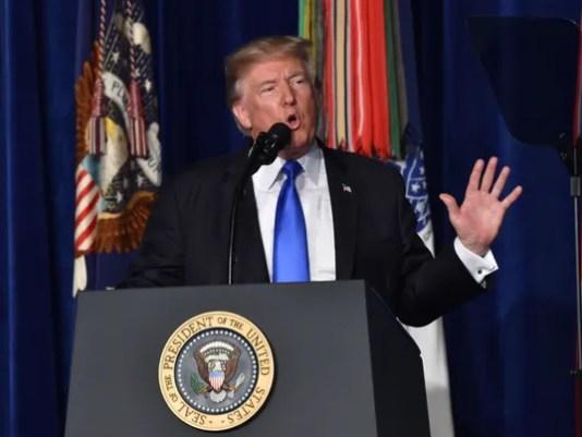 President Trump Afghanistan Strategy