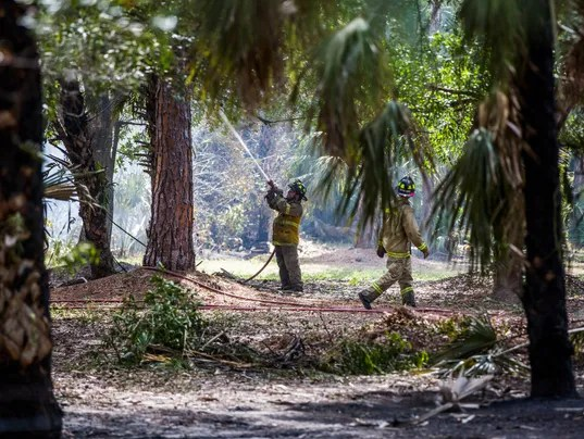 SW Fla. crews contain a few small wildfires that ...