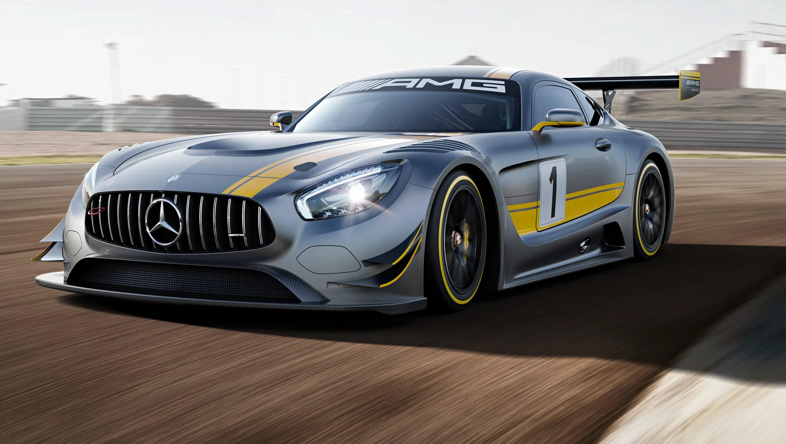 Mercedes AMG Creates Racing Version Of GT Supercar