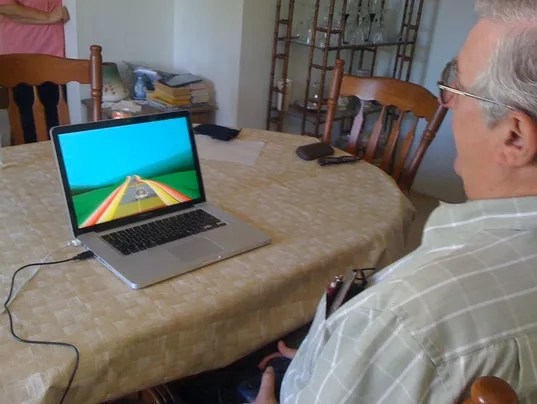 NeuroRacer1 video game for memory