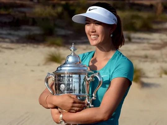 Michelle Wie wins U.S. Women's Open