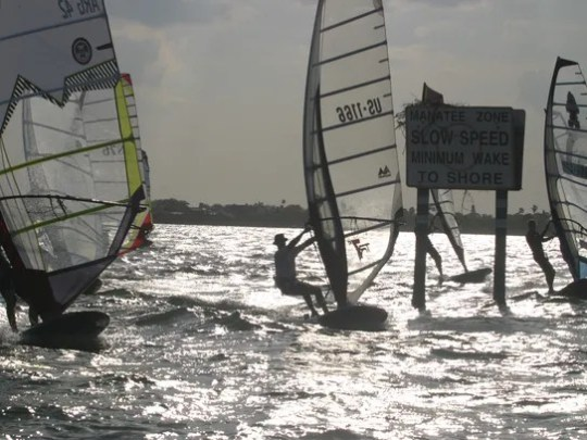 Calema Windsurfing generally hosts the Calema Midwinters