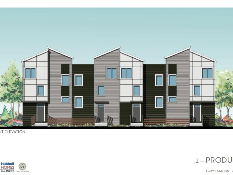 Hubbell s new townhomes target downtown Des Moines renters Hubbell Realty Co  plans 89 townhome units in its first