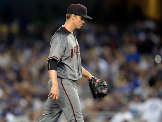 April 14, 2017: Arizona Diamondbacks starting pitcher