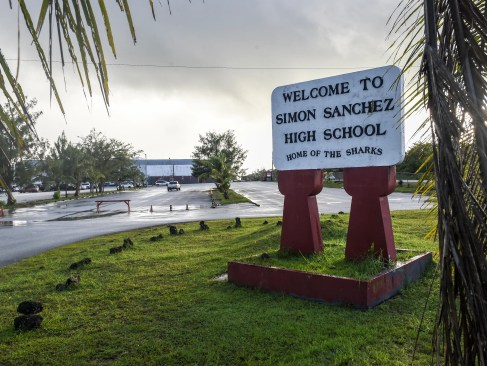 Image result for Simon Sanchez High School (Yigo)