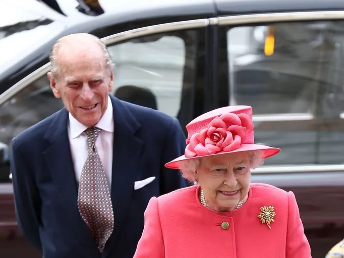 LONDON, ENGLAND - MARCH 10:  Prince Phillip and HRH Queen Elizabeth II attend the Commonwealth day observance service at Westminster Abbey on March 10, 2014 in London, England.  (Photo by Tim P. Whitby/Getty Images)