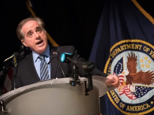 VA Secretary David Shulkin holds a press conference