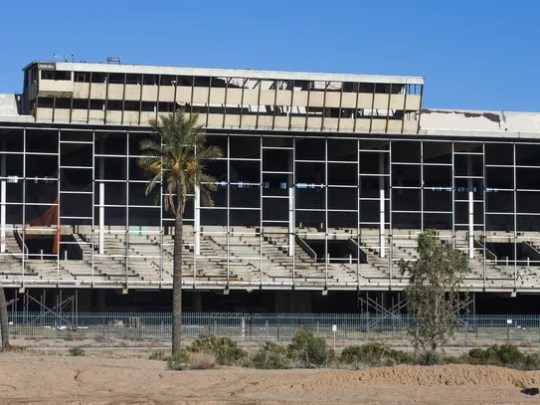 These are the remains of the Phoenix Trotting Park
