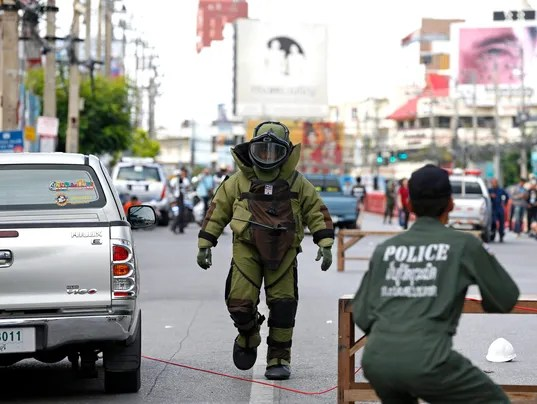 EPA THAILAND BOMB ATTACKS WAR ACTS OF TERROR THA PR