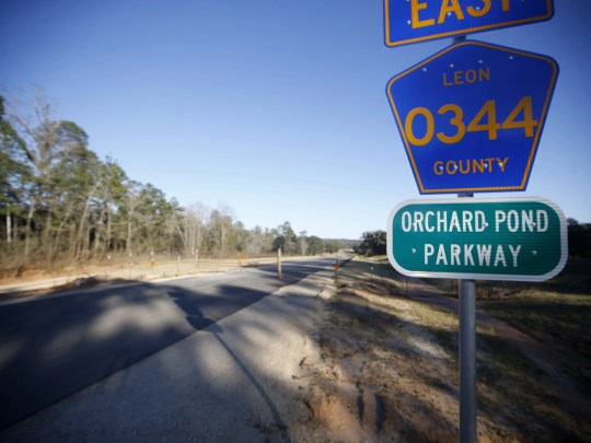 Orchard Park Parking - the first private toll road built in Florida, will be seen here on Thursday, February 25, 2016. There would be a recreational pathway bill along the road.