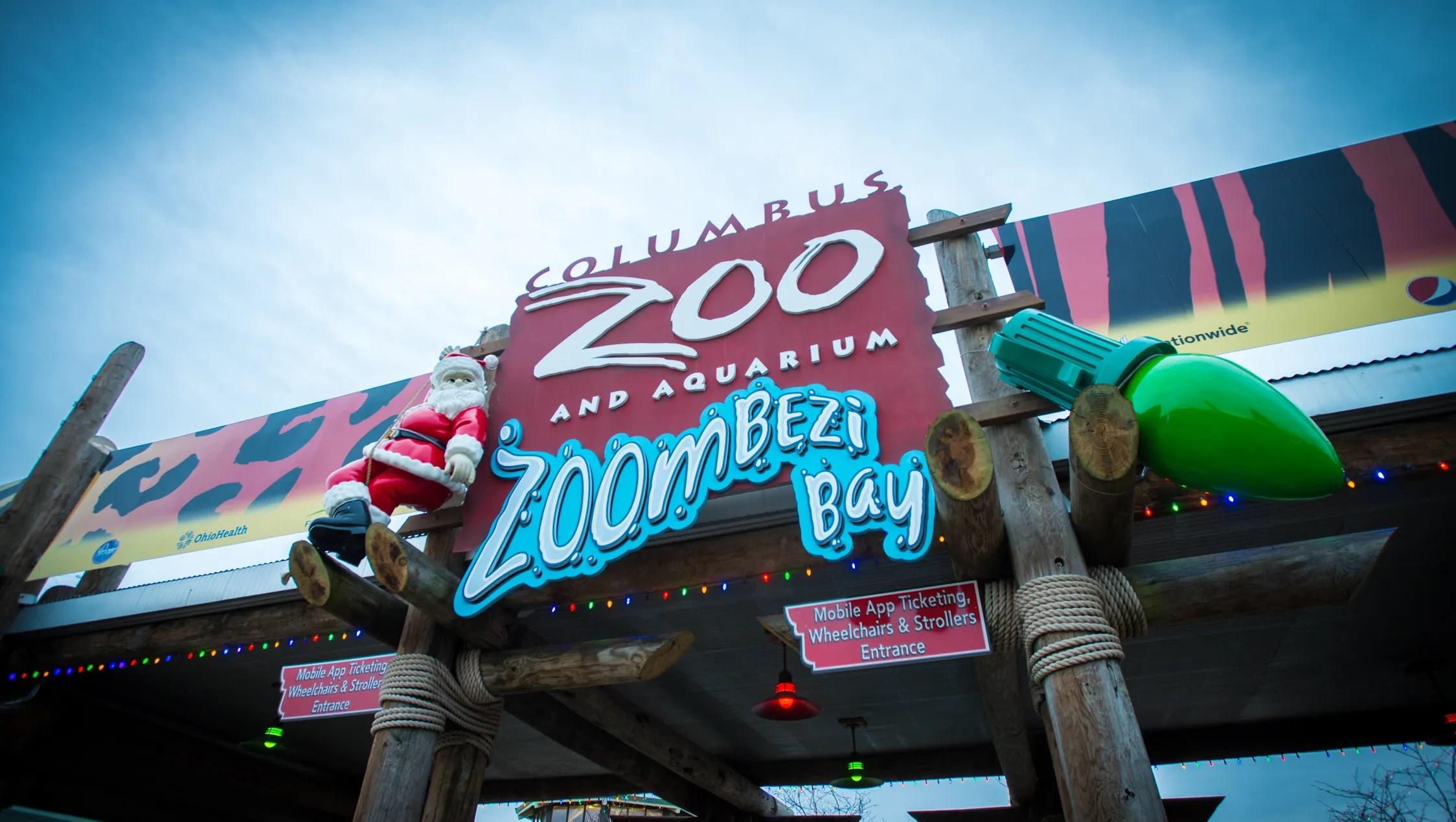 Columbus Zoo Lights Canned Food