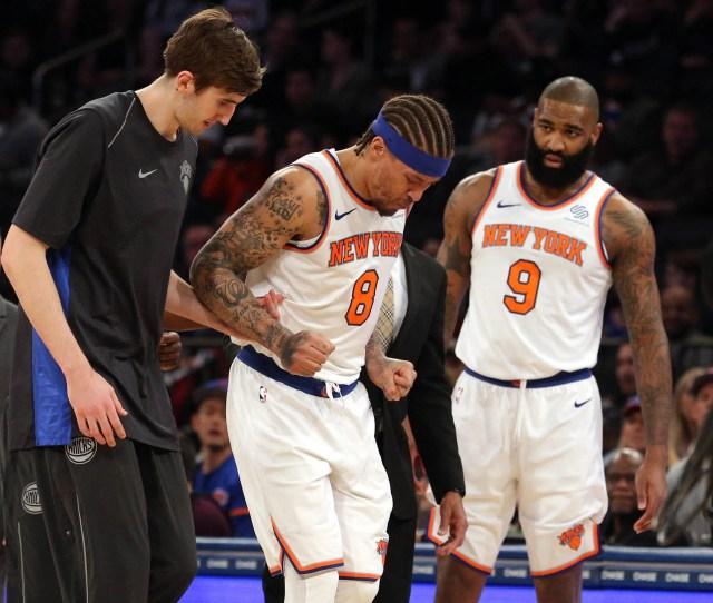 Nba Miami Heat At New York Knicks