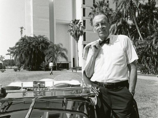 Jerome P. Keuper, Ph.D, founder of Florida Tech, in